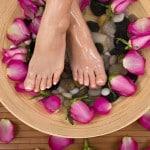 feet flower